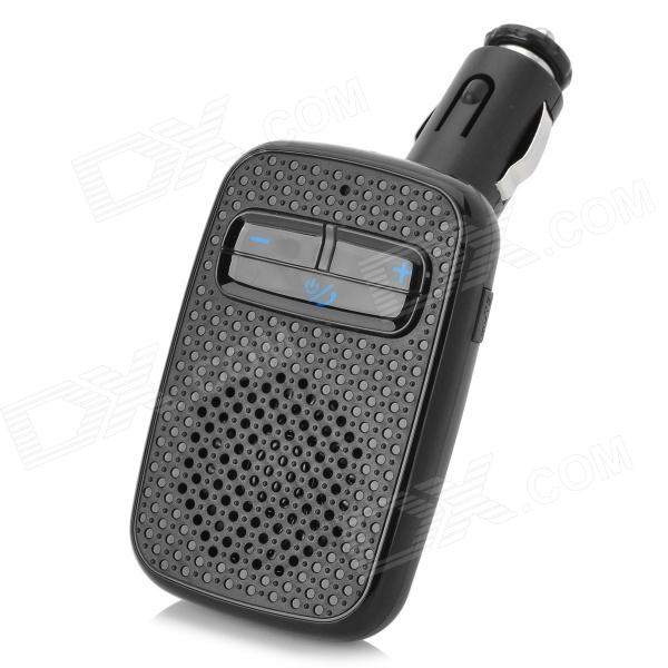 DX / WQ-2 Bluetooth v4.0 Car Hands-Free Device Supports A2DP - Black (DC 12~24V)