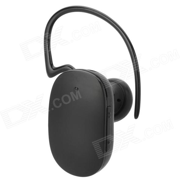 Woowi BTEC034 Stereo Bluetooth v3.0 + EDR Headset w/ Microphone - Black