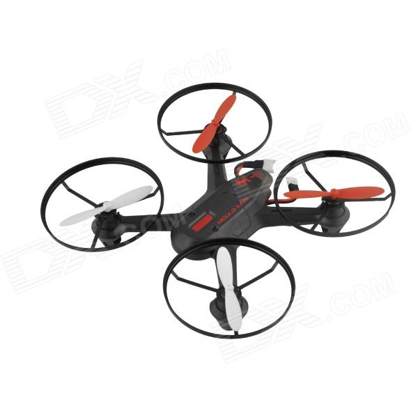 2.4G Four Axial 4-Channel IR Remote Control Aircraft Toy - Black