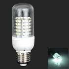E27 5W 480lm 6000K 72-SMD 3528 LED White Light Corn light - White (AC 220~240V)