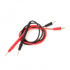 LODESTAR Digital Multimeter Test Lead - Black + Red (2 PCS)