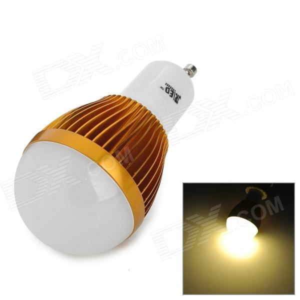 JRLED JR-LED-GU10-3W-WW 210lm 3300K 6-5730 SMD LED Warm White Light Bulb - White + Golden (85~265V)