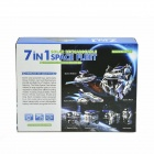 2117 7-in-1 DIY Solar ladattava Space Fleet Kit-Valkoinen