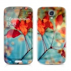PAG Front Screen + Back Skin Protector Stickers for Samsung Galaxy S4 i9500 - Multicolored
