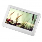 """YZ-BAI 1080P 4.3 """"TFT Touch-Screen-MP5-Player w / TV-Out - Weiß (4GB)"""