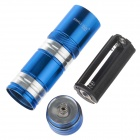 Small Sun ZY-8857 200lm 6000K 9-LED White Light Flashlight - Blue + Silver (3 x AAA)