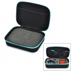 HGYBEST H03002 Protective EVA Camera Storage Bag for GoPro HD Hero3+ / HERO3 / HERO2 - Black + Blue