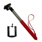 BZ 200L 6-Fold Retractable Handheld Monopod for GoPro 3+ / Universal Cameras / Cellphone - Red
