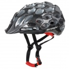 KUYOU KY-014 Bicycle 39-Vent Helmet - Black + White
