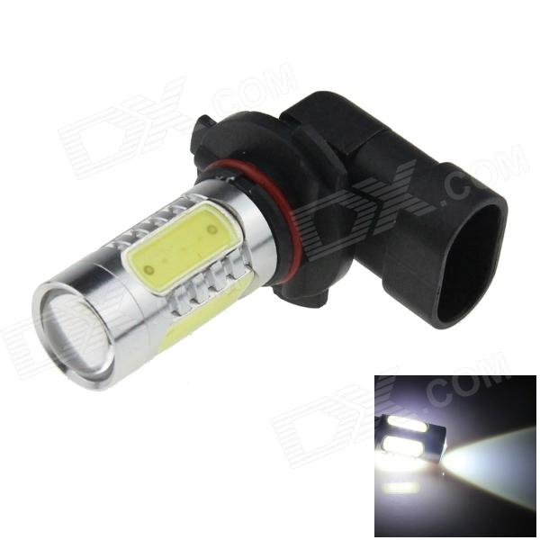 9005 / HB3 9W 500lm 1-LED + 4-COB LED White Light Car Foglight - (12~24V) wf90053522 highlight 9005 3w 210lm 1 smd led white light car foglight dc 12v