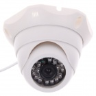 "Weipus WPS-GL3060H 3.6mm 1/4"" CMOS 800TVL Surveillance IR Dome Camera w/ 24-IR LED - White"