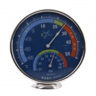 TH101 2-In-1 Wall Mount / Desktop Thermometer / Hygrometer - Blue + Silver