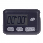 "BK-727 1.7"" LCD Kitchen Digital Timer - Black (1 x AG3)"