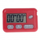 "BK-727 1.7"" LCD Kitchen Digital Timer - Red (1 x AG3)"