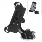 360 Degree Rotation Holder Mount w/ H07 Suction Cup for Iphone 5C - Black