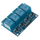 DOFLY CG06NG011 4-Channel Relay Module Circuit board - Blue