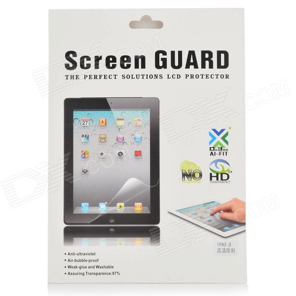 HD PET Screen Protective Film for Ipad 2 / 3 - Transparent