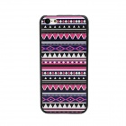 Elonbo Dimensional Relief Tribal Ethnic Stil Protective PC zurück Fall für Iphone 5C - Mehrfarbig