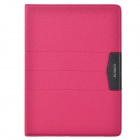 XUNDD Stylish Ultrathin Protective PU Leather Case Cover Stand for Ipad AIR - Deep Pink