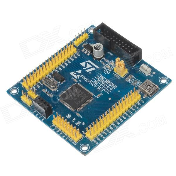 DOFLY STM32F103VCT6 Core Board - Yellow + Blue dofly stm32f103c8t6 core board black blue