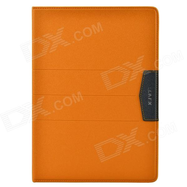 XUNDD Stylish Ultrathin Protective PU Leather Case Cover Stand for Ipad AIR - Orange