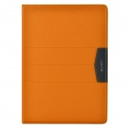 XUNDD Stilvolle Ultradünne Protective PU Ledertasche Ständer für Ipad AIR - Orange