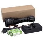 SingFire SF-914 3-LED 1800lm 5-Mode White Diving Flashlight Torch - Black (2 x 26650)