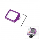 Fat Cat High Precision CNC Alluminum Alloy Lens Strap Ring for Gopro Hero 3+ - Purple