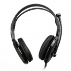 OVLENG S998 Dynamic Stereo Headset w/ Microphone - Black + Red (3.5mm Plug / 170cm-Cable)