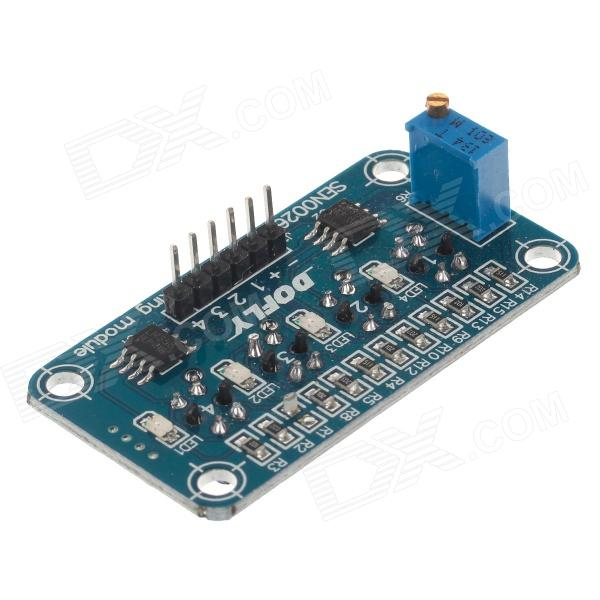 DOFLY 4-Channel Tracking Module Infrared Reflectance Switch - Blue + Black dofly stm32f103c8t6 core board black blue
