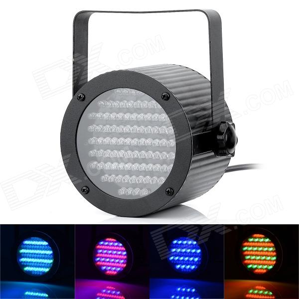 Professional 4 Channel 86-LED RGB Stage Light w/ DMX512 - Black