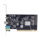 PCI TV Tuner Card w/ FM - Black + Silver