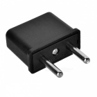 CM-1 US Socket to EU Plug AC Power Adapter - Black (10PCS / 2.5~250V)