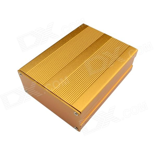 Jtron Aluminum Electronics Chassis Casing PCB Enclosures - Golden (103 x 74 x 35mm)  цена