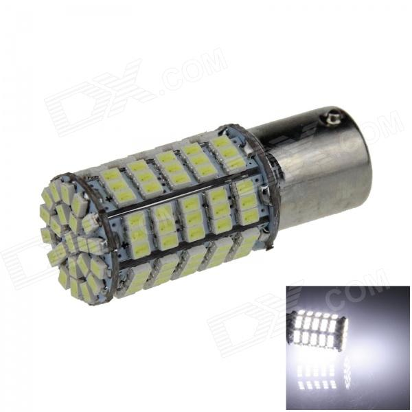 1156 / BA15S / P21W 5W 400lm 127*SMD 1206 LED White Car Lamp (12V)