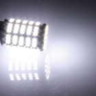 1157 / BAY15D 5W 400lm 127 x SMD 1206 LED White Car Backup Light / Steering / Brake Lamp - (12V)