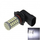 9006 / HB4 5W 400lm 127 x SMD 1206 LED White Light Car Foglight - (12V)