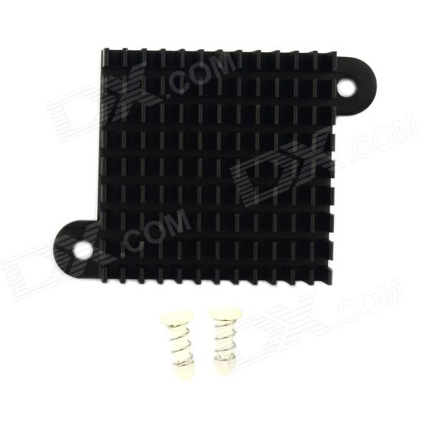 Jtron High Performance Aluminum Heatsink Radiator / Chip CPU Radiator - Black (35 x 35 x 10mm) new arrival dental all teeth removable standard teeth tooth model 28 pcs teeth student learning model