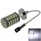 H3 5W 400lm 127 x SMD 1206 LED White Light Car Foglight - (12V)