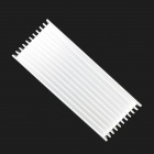 Jtron Aluminum Radiator / Heat Dissipation Strip - Silver (100 x 40 x 20mm)