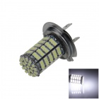 H7 5W 400lm 127 x SMD 1206 LED White Light Car Foglight - (12V)