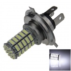 H4 5W 400lm 127 x SMD 1206 LED White Light Car Foglight - (12V)