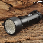 UltraFire 51C 51-LED 405nm Purple 1-Mode Flashlight - Black (3 x AA / 1 x 26650)