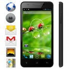 "KICCY MTK6582 Quad-Core Android 4.2 WCDMA Bar Phone w/ 4.5"" IPS, Wi-Fi, GPS, ROM 4GB - Black"