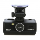"LSON K1000-2 2.4"" LCD 5.0 MP CMOS 1080P Car DVR w/ HDMI / TV OUT - Black"