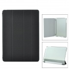 Protective PU + Plastic Flip-Open Smart Case for Ipad AIR - Black