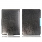 Hand Support  Function Protective Leather Case for Amazon Kindle Paperwhite - Black