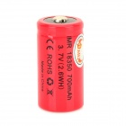 MKJ 18350 Rechargeable 3.7V 700mAh 2.6WH Li-ion Battery - Red