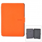 Ultrathin Protective PU Leather Case w/ Auto Sleep for Kindle Paperwhite - Orange