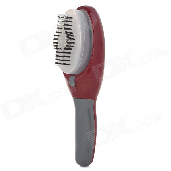 Convenient Electric Hair Dye Brush Comb - Wine Red + Grey (2 x AAA ...